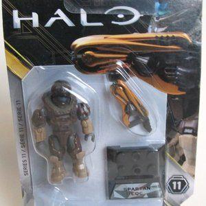 Halo #22 Spartan CQC Series 11 Mini Figure 8+